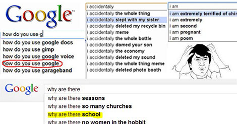 The Stuff People Google is Actually Ridiculous