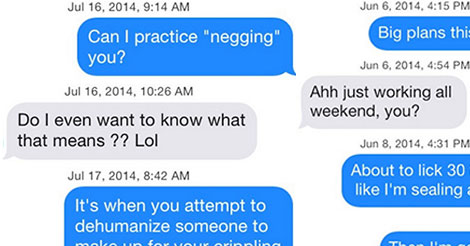30 Tinder Pickup Lines That Are So Wrong, They're Almost Right