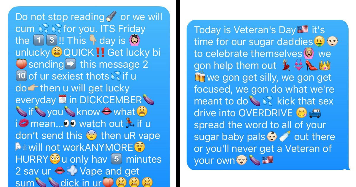 15 Wildly Inappropriate Chain Texts to Troll Your Friends With – For Any Occasion