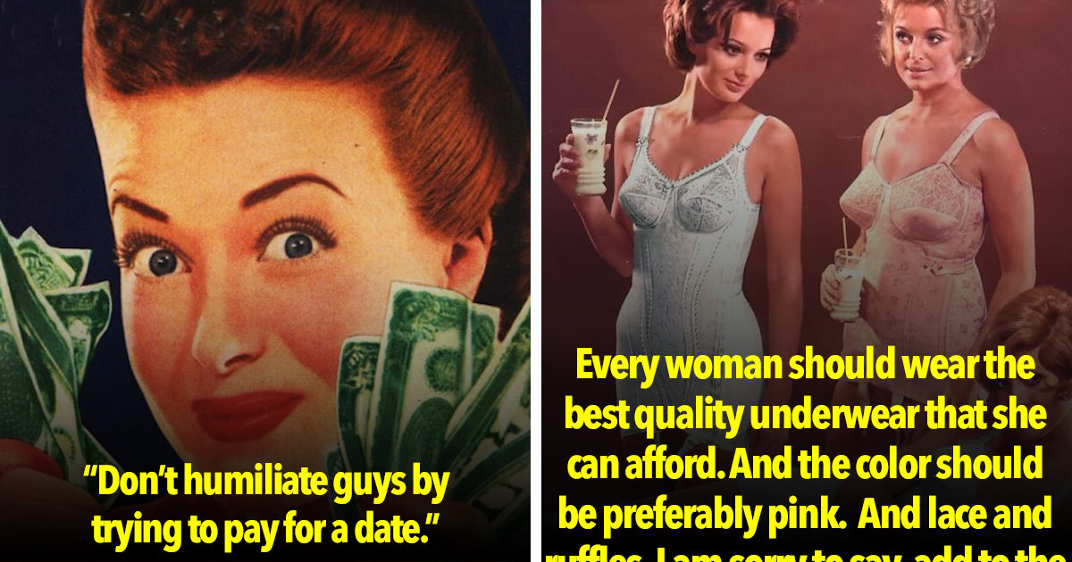 This 1950s Dating Advice Is Horrifying, But We Can't Look Away