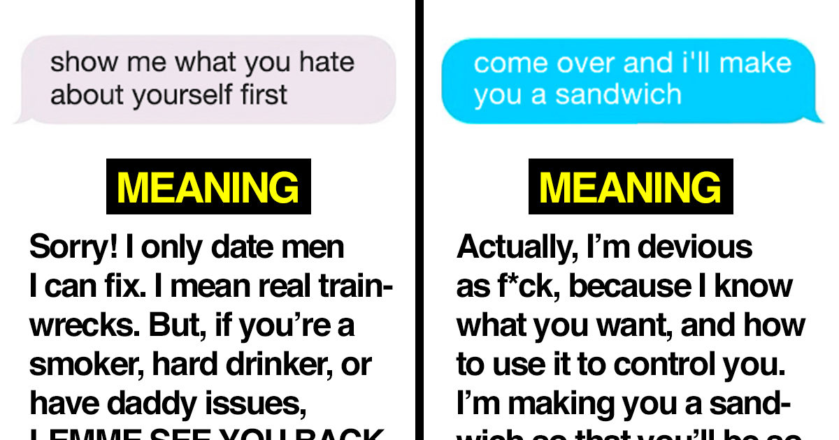 16 Hilariously Cryptic 'Flirty' Texts, and What They Really Mean