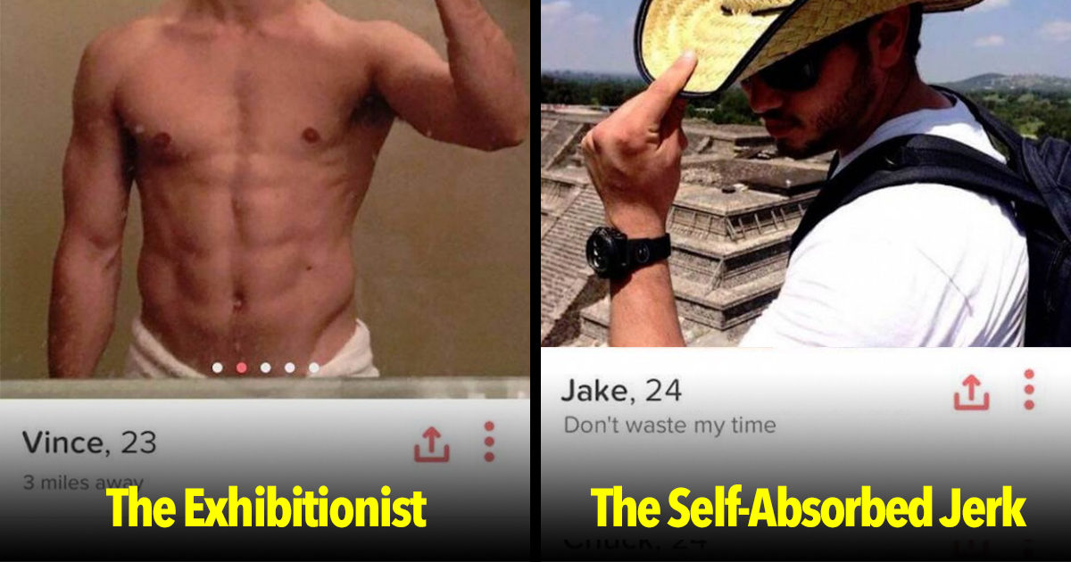 17 Tinder Bros We Definitely Left Swiped… Nope.