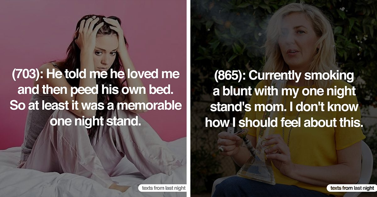 These 29 People Reveal Their Most Awkward One-Night Stands