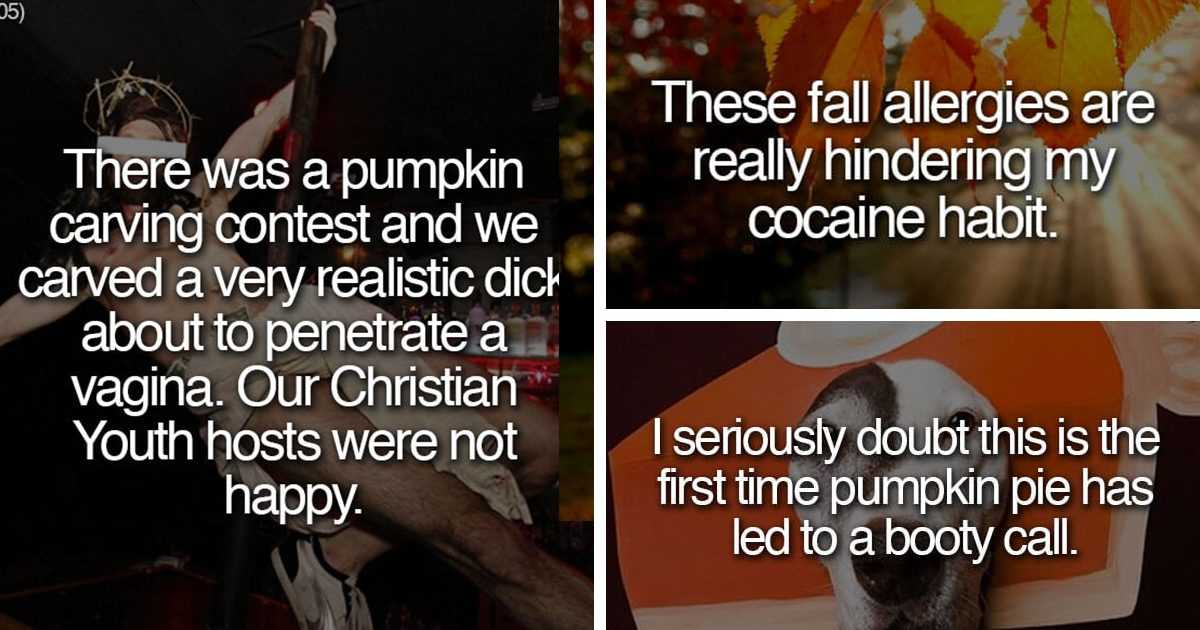 22 People Who Are Shamelessly Pumped For Pumpkin Spice Season