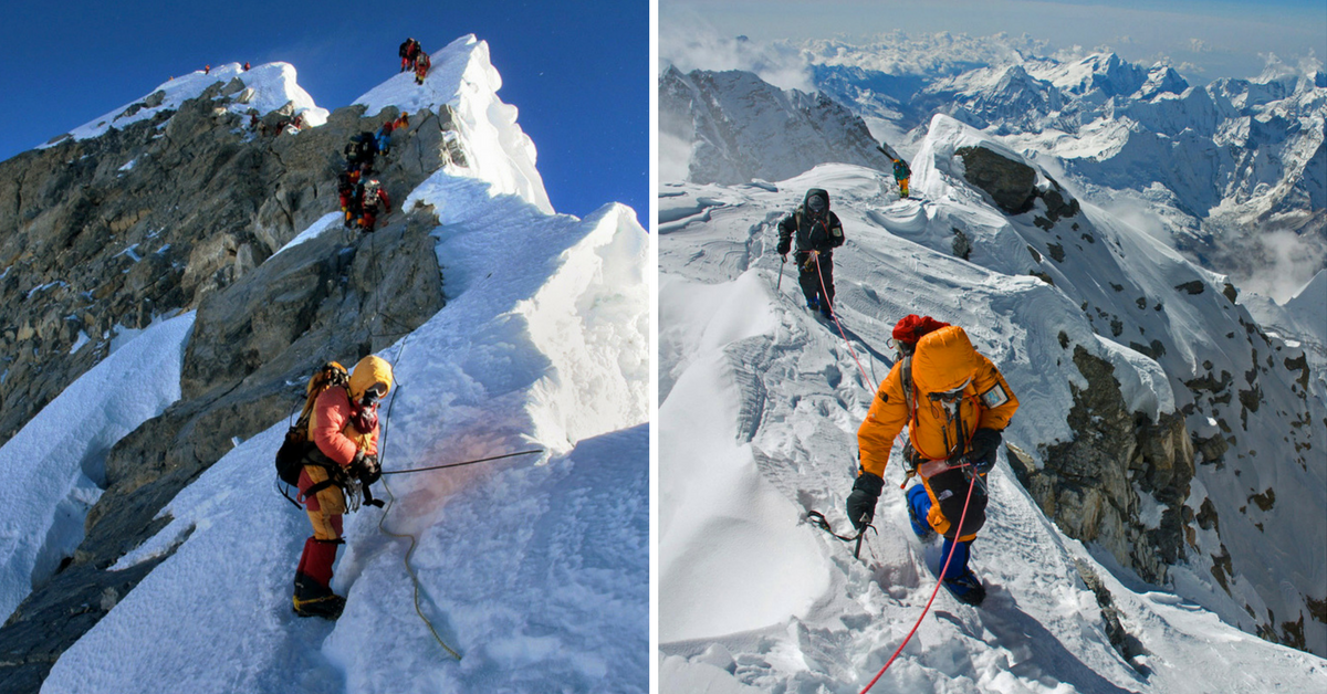 Mount Everest Bodies Used as Landmarks