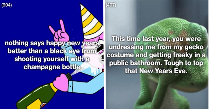 These 31 People Gave Absolutely No F*cks On New Year's Eve