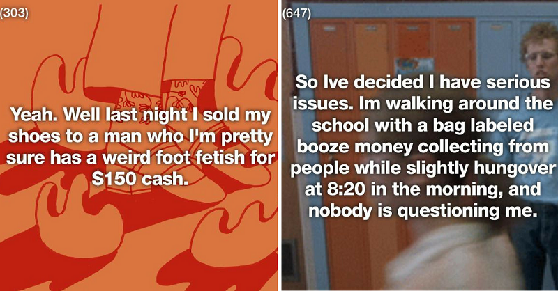 15 Ridiculous Ways Broke People Managed to Make a Buck