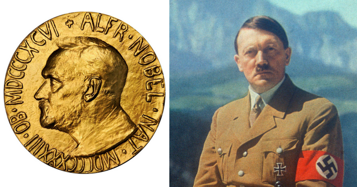 These 7 Evil People Were Nominated For The Nobel Peace Prize