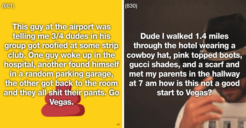 27 Times Vegas Was A Real Life 'The Hangover'