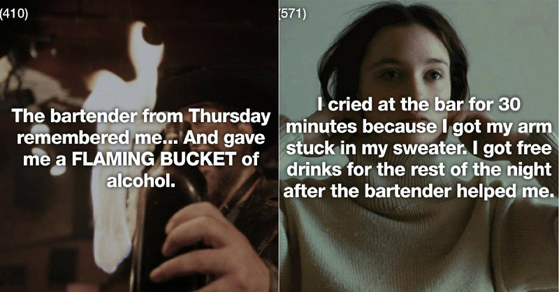 21 Bartenders That Are Definitely Winning At Their Jobs