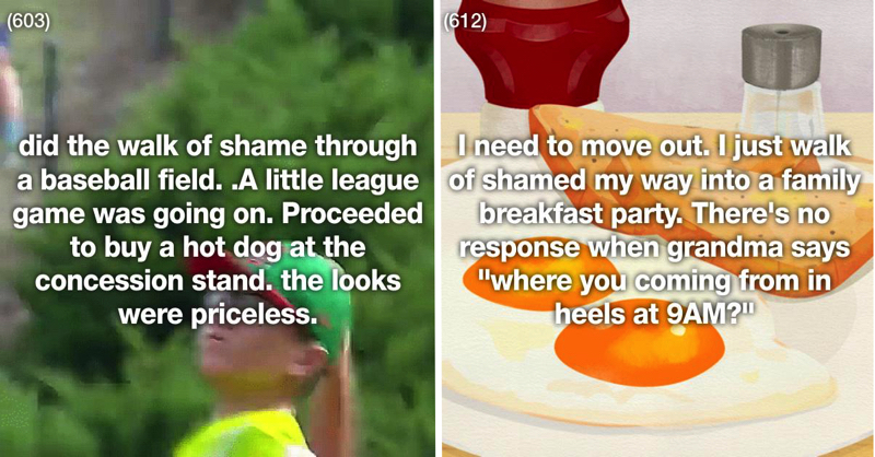 29 Of The Most Hilarious And Embarrassing Walks Of Shame Ever