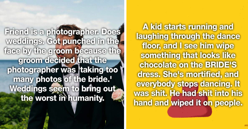 25 Wedding Horror Stories That Will Make You Dread Getting Married