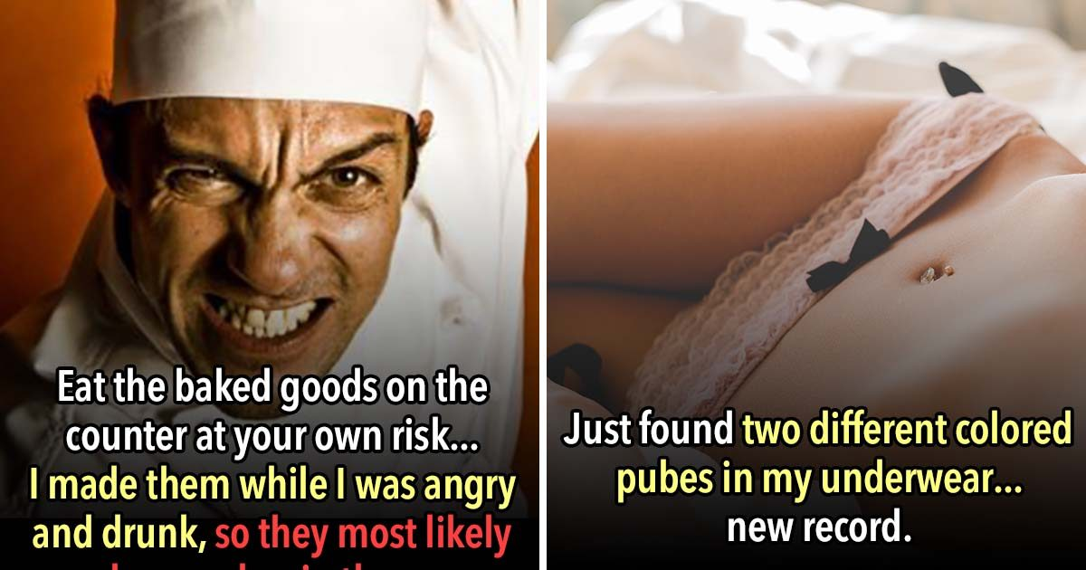 19 People That Found Pubes In All The Wrong Places