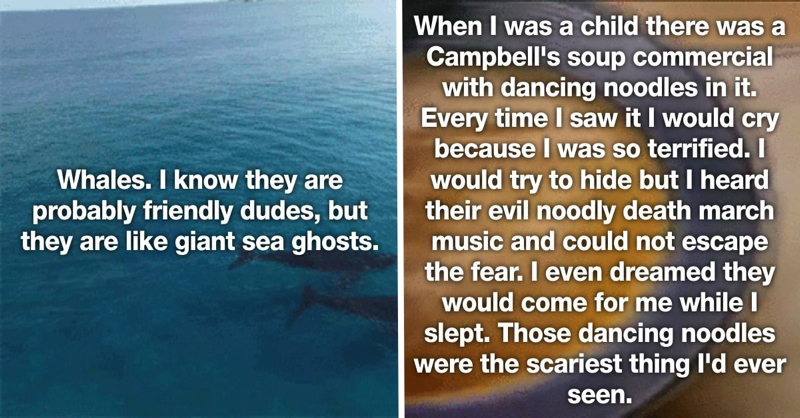 25 People Confess The Most Bizarre Things That Scare Them