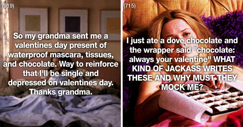 23 Of The Most Depressing Valentine's Days Ever