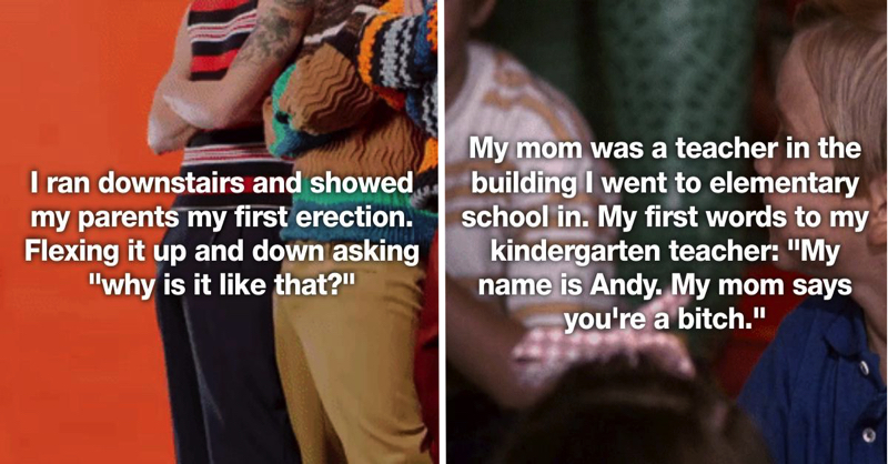 25 Adults Reveal The Most Embarrassing Stories From When They Were Kids