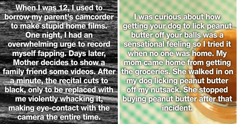 23 People Reveal The Most Humiliating Things Their Parents Caught Them Doing