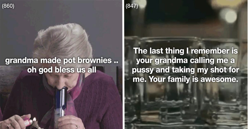 These 23 Grandmas Know How To Get Lit AF
