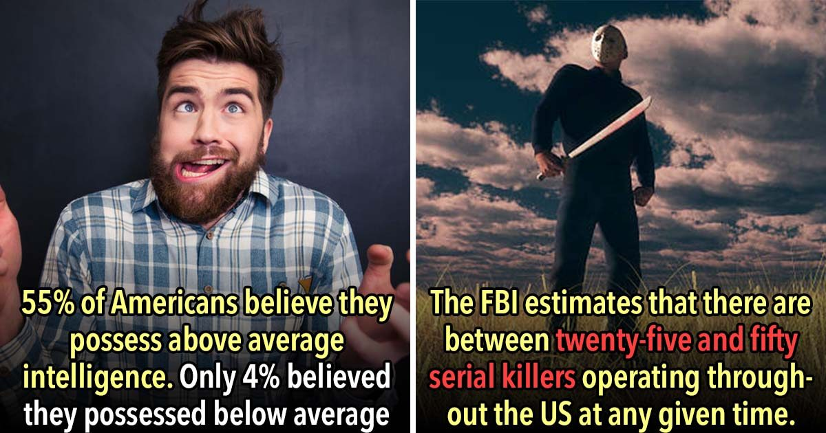 25 Mind-Boggling Statistics That You Won't Believe