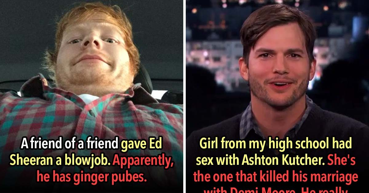 31 Sexy Confessions From People Who Banged A Celebrity