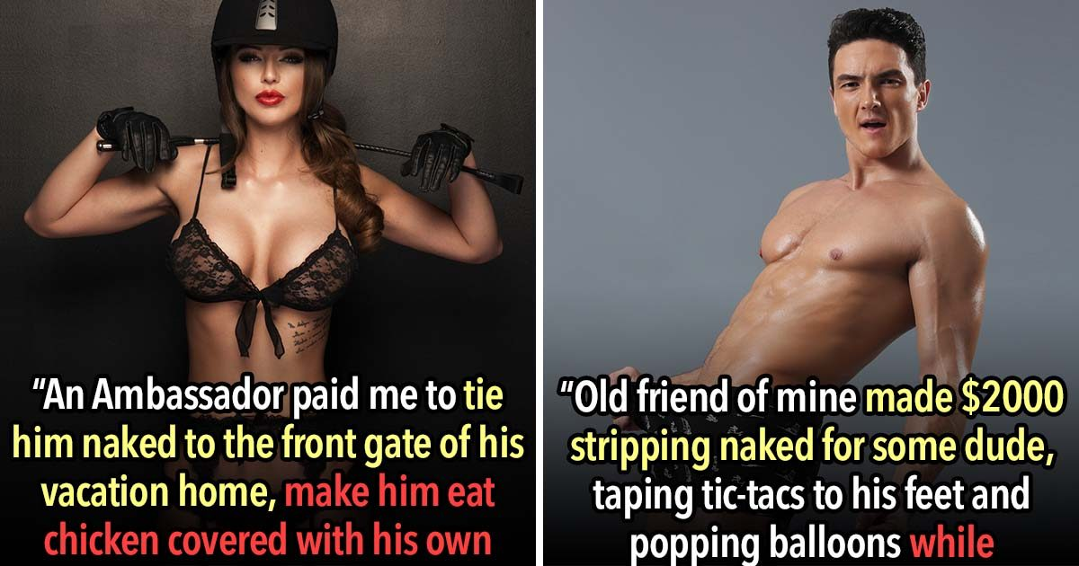 The 25 Craziest Non-Sexual Things Prostitutes Have Been Paid To Do