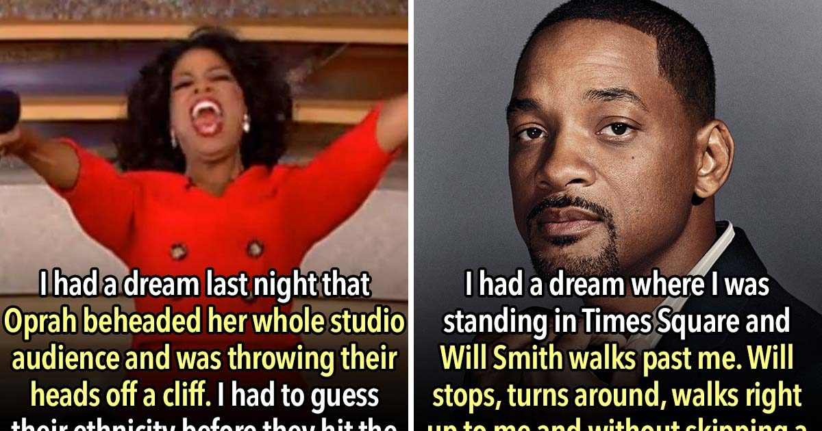 These 21 People Confess The Most Outrageous Dreams They've Ever Had