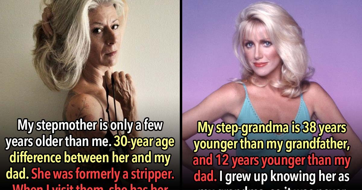 23 People Have Step Parents That Are Younger Than Them
