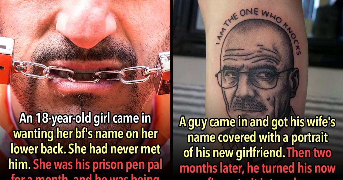 21 Of The Most Regrettable Tattoo Ideas Ever