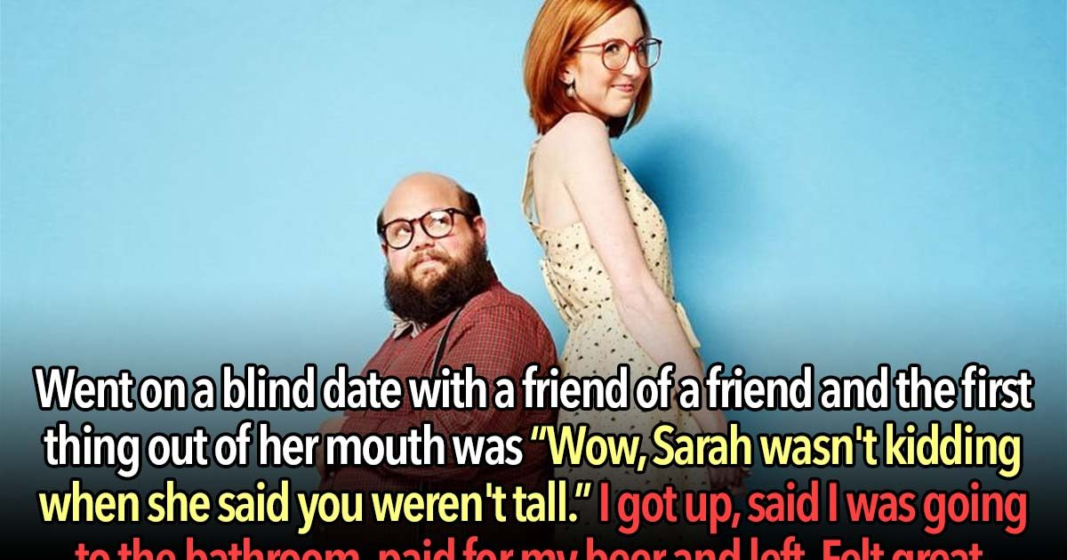 23 People Confess The Worst Thing They've Ever Done On A First Date