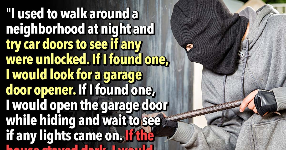 19 Former Burglars Reveal The Signs That A House Is Easy To Rob