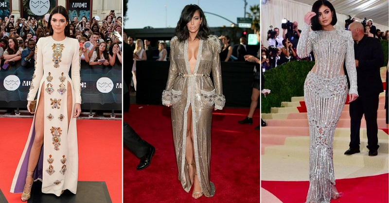 The Kardashian Women's 5 Most Iconic Red Carpet Looks
