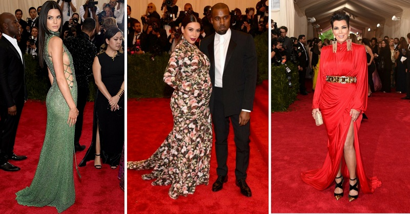 The Most Iconic Met Gala Looks The Kardashian's Have Rocked