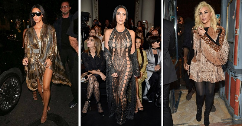 31 Times Kim Kardashian Showed Her Love For Balmain