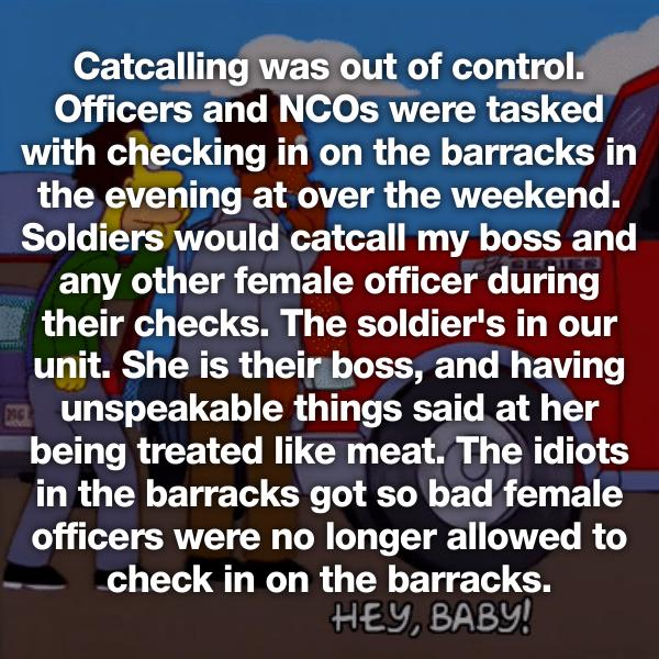 Military Women Sexual Harassment