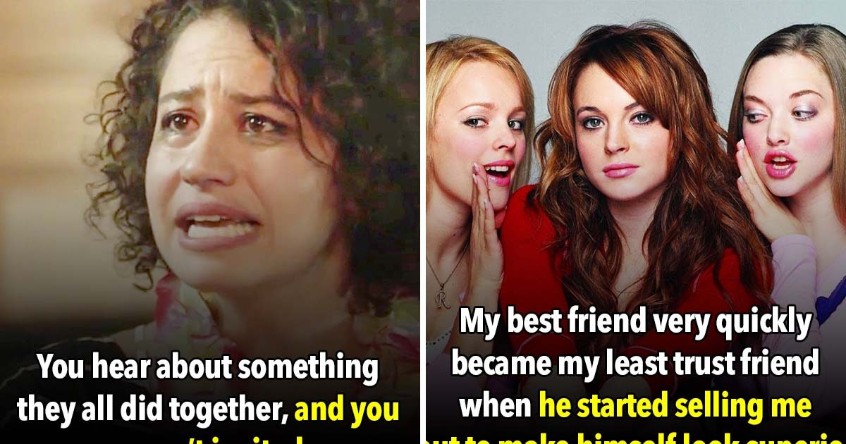 23 Signs That Your 'Friends' Aren't Really Your Friends