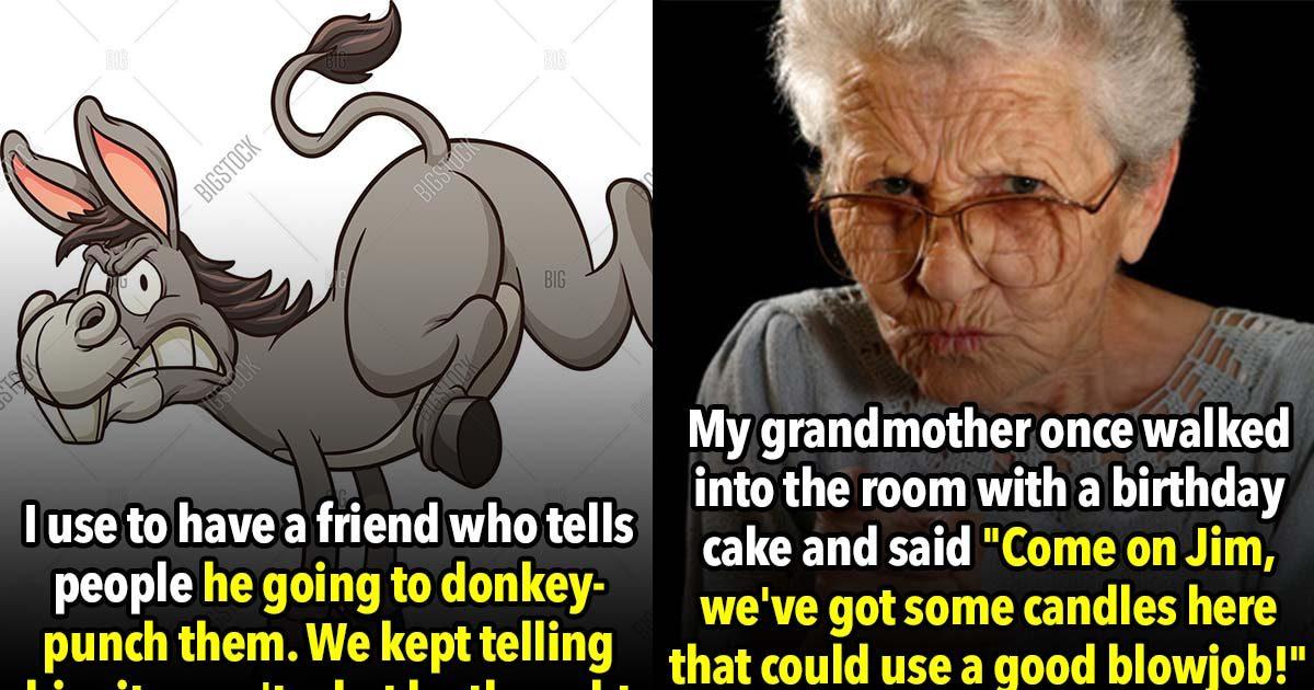 21 Sex Phrases Old People Awkwardly Misunderstand