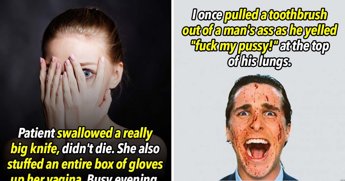 23 Mental Hospital Workers Confess The Most Horrifying Thing They've Witnessed