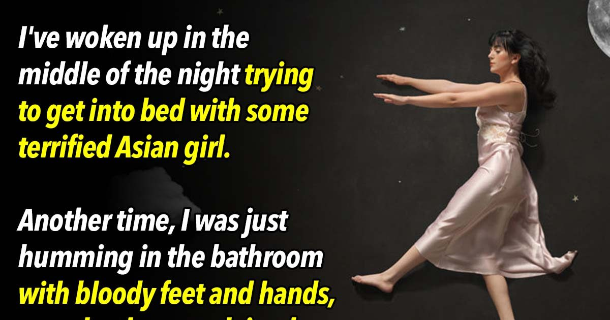 The 23 Craziest Things People Did While They Were Sleeping