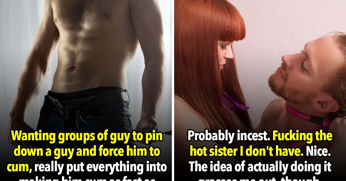 27 People Confess Their Most Immoral Sex Fantasies