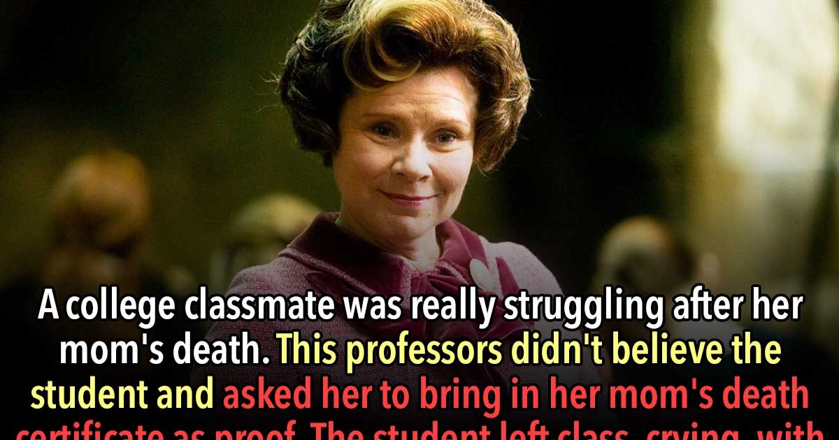 These 25 Teachers Said Horrible Things to Their Students