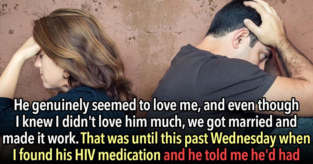 These 21 People Got Married Because They Didn't Know How To Dump Someone