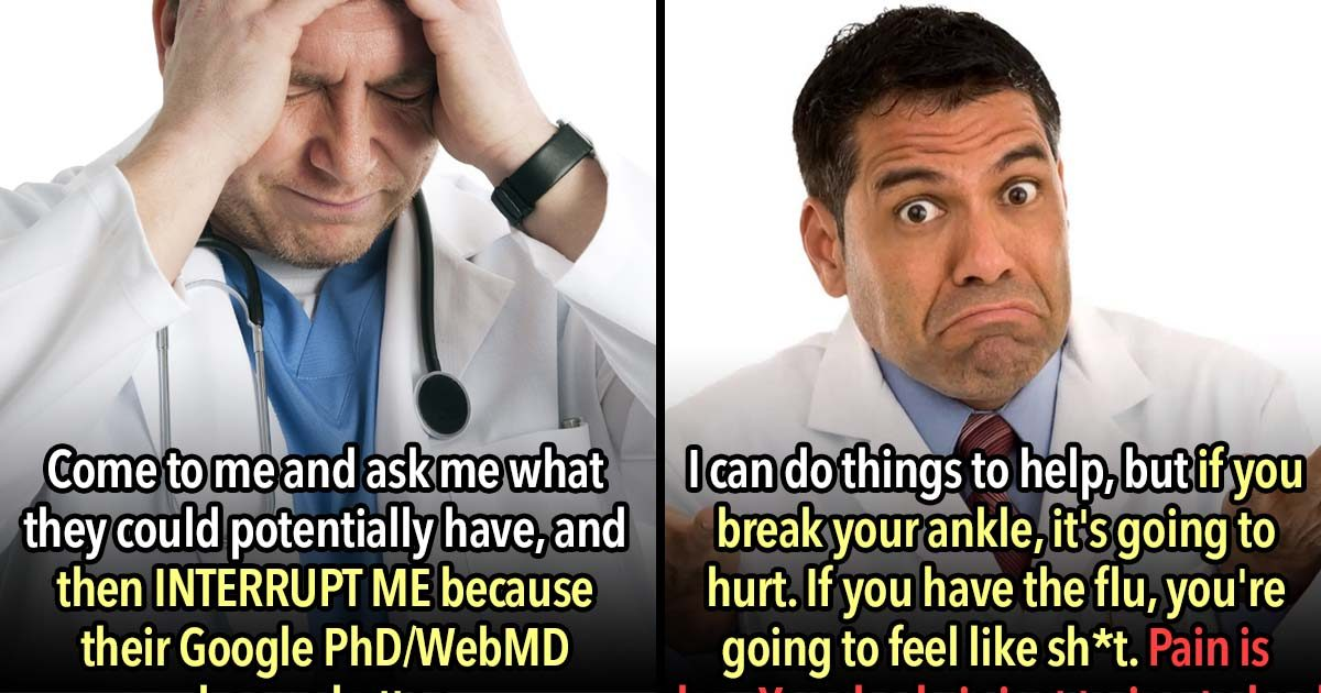 Doctors Confess the 23 Most Annoying Things Patients Do