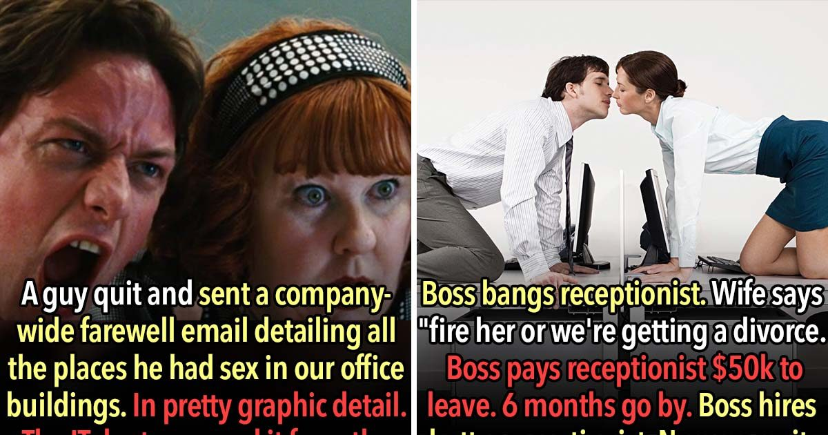 23 People Confess The Most NSFW Thing That Happened At Their Work