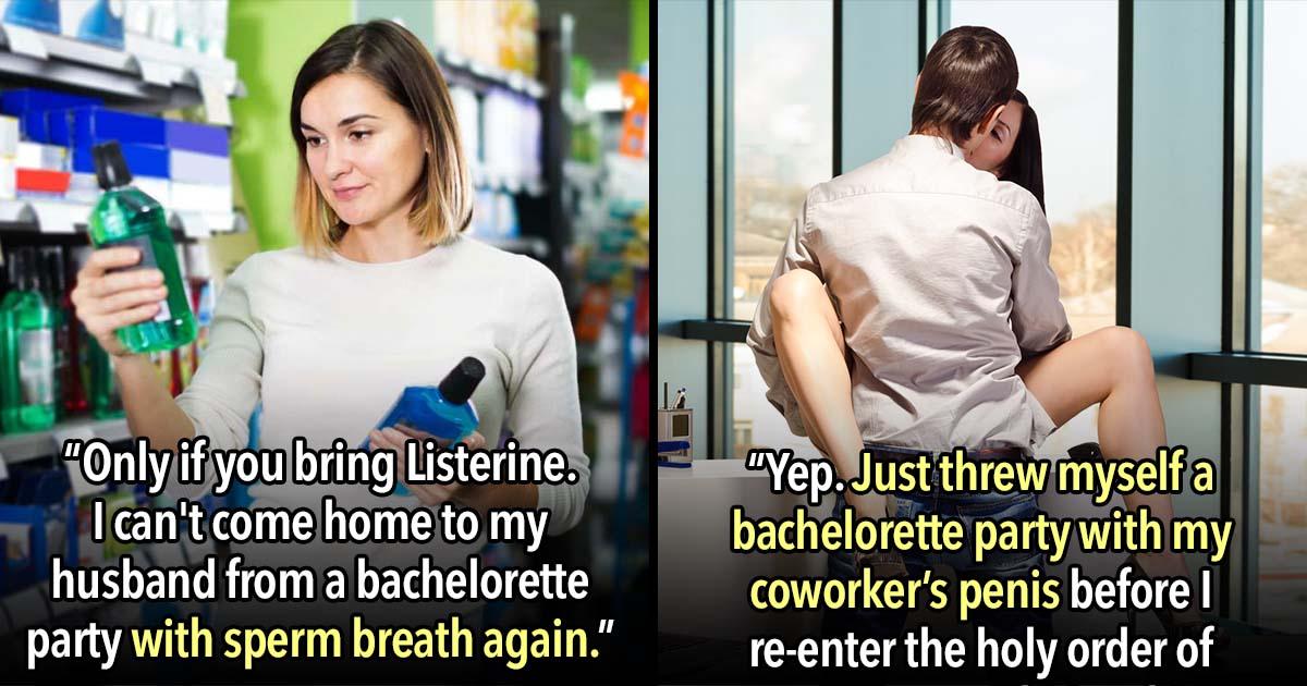 19 Cringe Worthy Bachelorette Party Texts