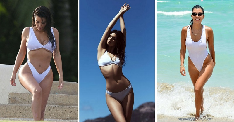 Proof The Kardashian & Jenner Gals Have the Best Beach Bods