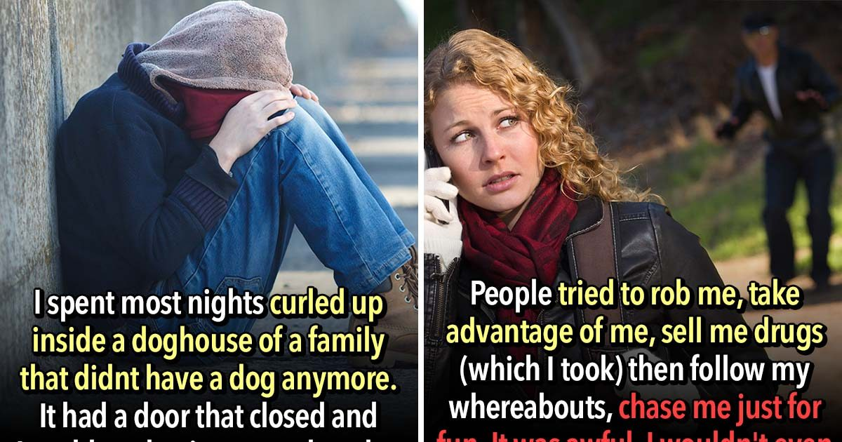 21 Homeless People Confess The Hardest Things They Have To Go Through