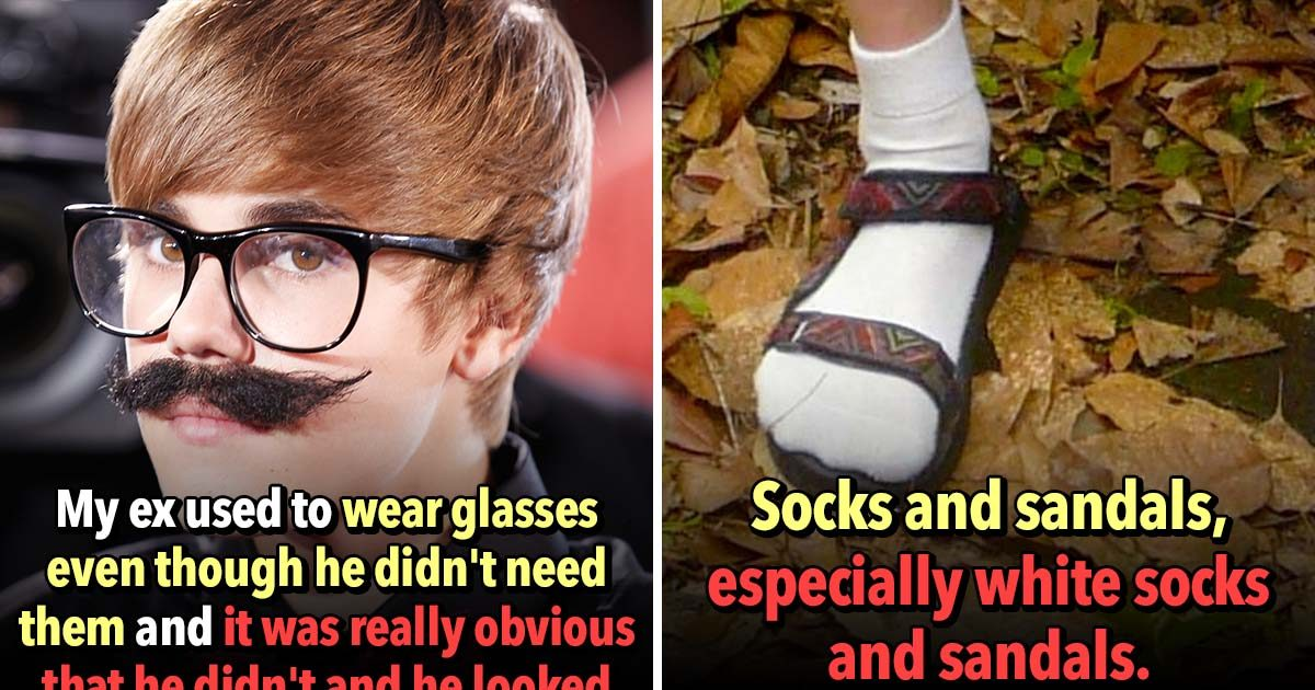 These 19 Men's Fashion Mistakes are Unforgivable, According to Women