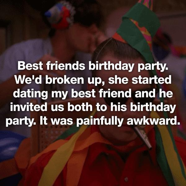 dating my best friend awkward