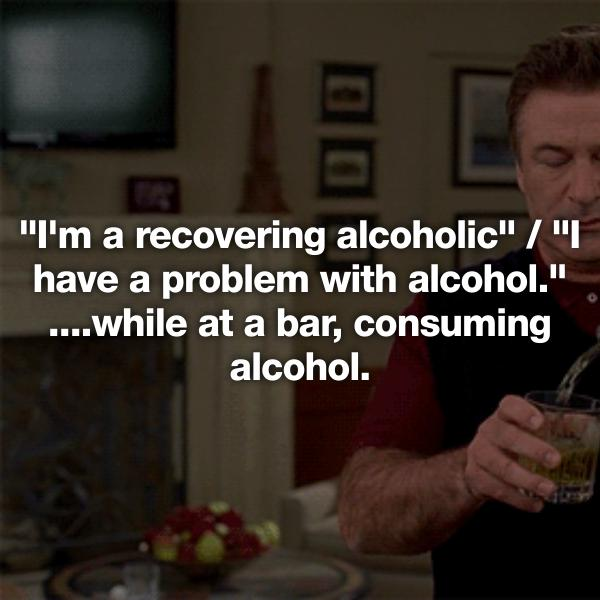 Dating recovering alcoholic first year