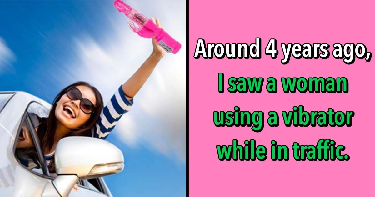 25 of The Strangest Things People Saw While In Traffic